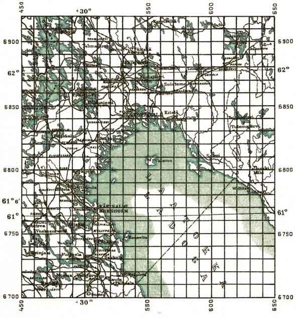 Карты Ладоги