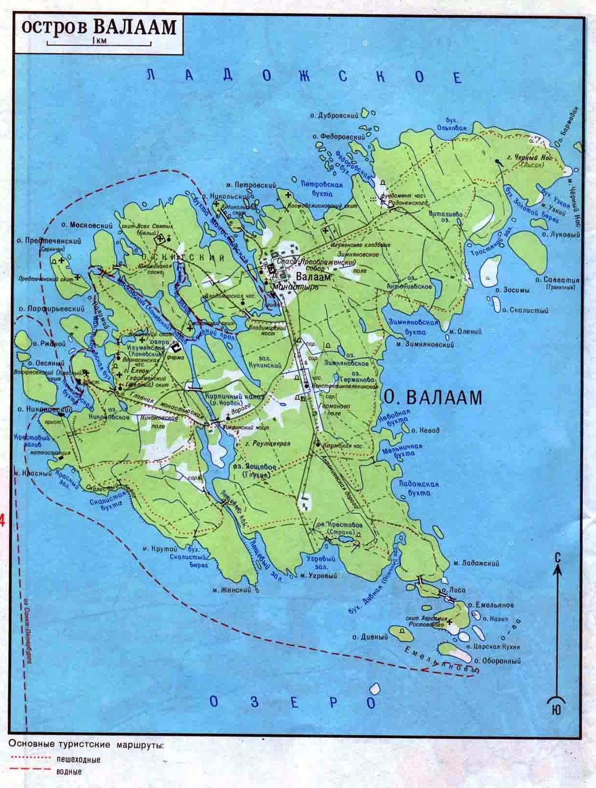 Кижи где находятся карта
