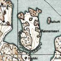 Ладожское озеро: остров каннансаари..